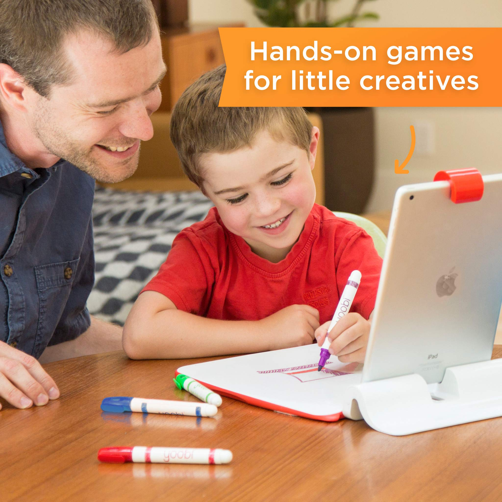 Osmo Creative Kit for iPad (iPad base included) by Osmo (Image #2)