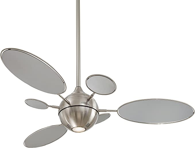 Minka aire f596 bn cirque 54 ceiling fan brushed nickel modern minka aire f596 bn cirque 54quot ceiling fan brushed nickel aloadofball Images