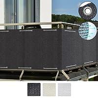 Sol Royal SolVision Balkon Sichtschutz HB2 HDPE Blickdichte Balkonumspannung aus Polyethylen 90x300 cm Oder 90x500 cm Diverse Farben