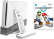 Wii Console with Mario Kart Wii Bundle - White (Renewed)