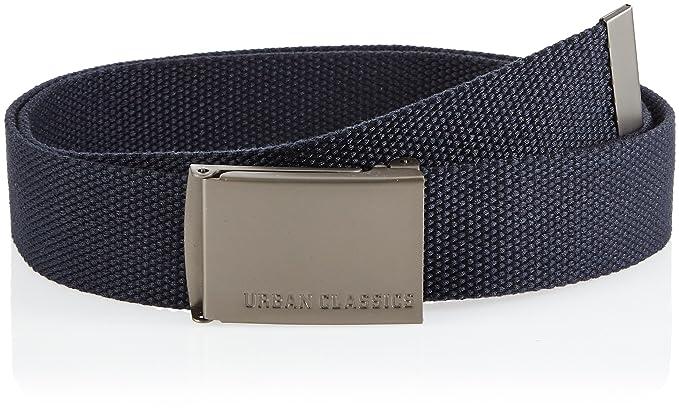 Urban Classics TB305 Unisex Gürtel Canvas Belt für Herren und Damen,  stufenlos verstellbarer Stoffgürtel, 60dc46f1fd9