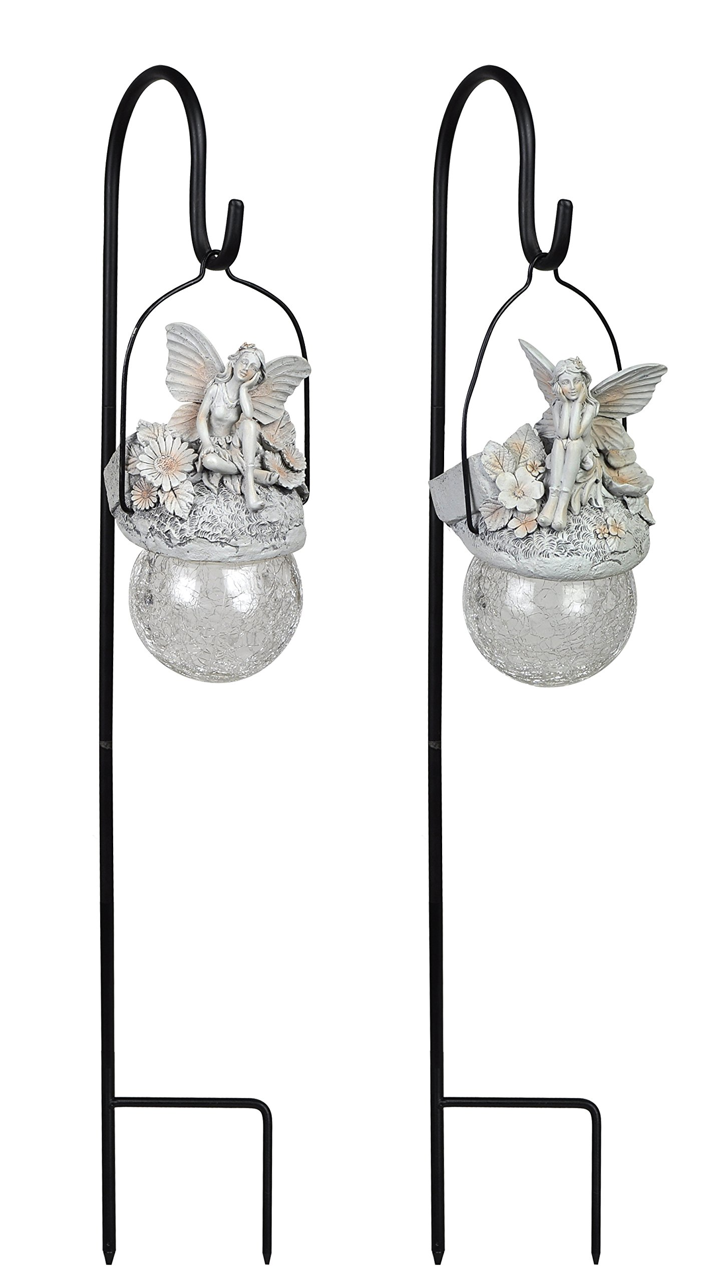 Moonrays 92417 Solar Powered LED Pixie Pendants (4 Pack)