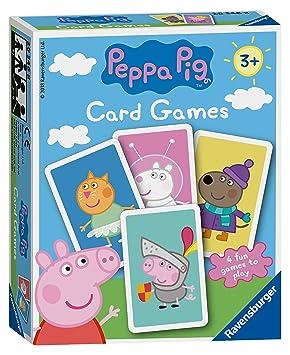 Ravensburger Peppa Pig - Juego de Cartas: Amazon.es ...
