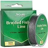 Braided Fishing Line Gray 15LB/20LB/25LB/30LB 150YDS for Lure Fishing, Saltwater Fishing, Freshwater Fshing, Surf Fishing, Ice Fishing, Trout Fishing or Bass Fishing