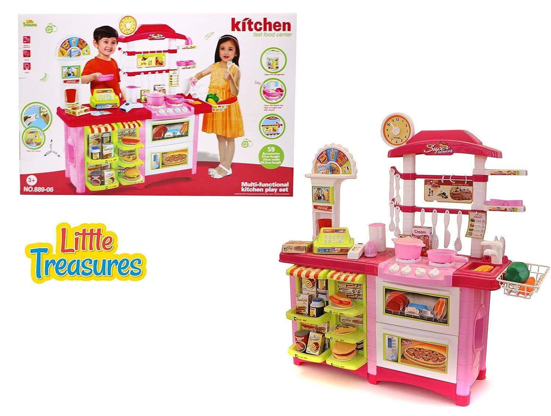 Amazon.com: Kitchen Fast Food Centre – 59 pieces fast food excellent ...