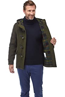Original Montgomery Men's Hackney Classic Short Duffle Coat