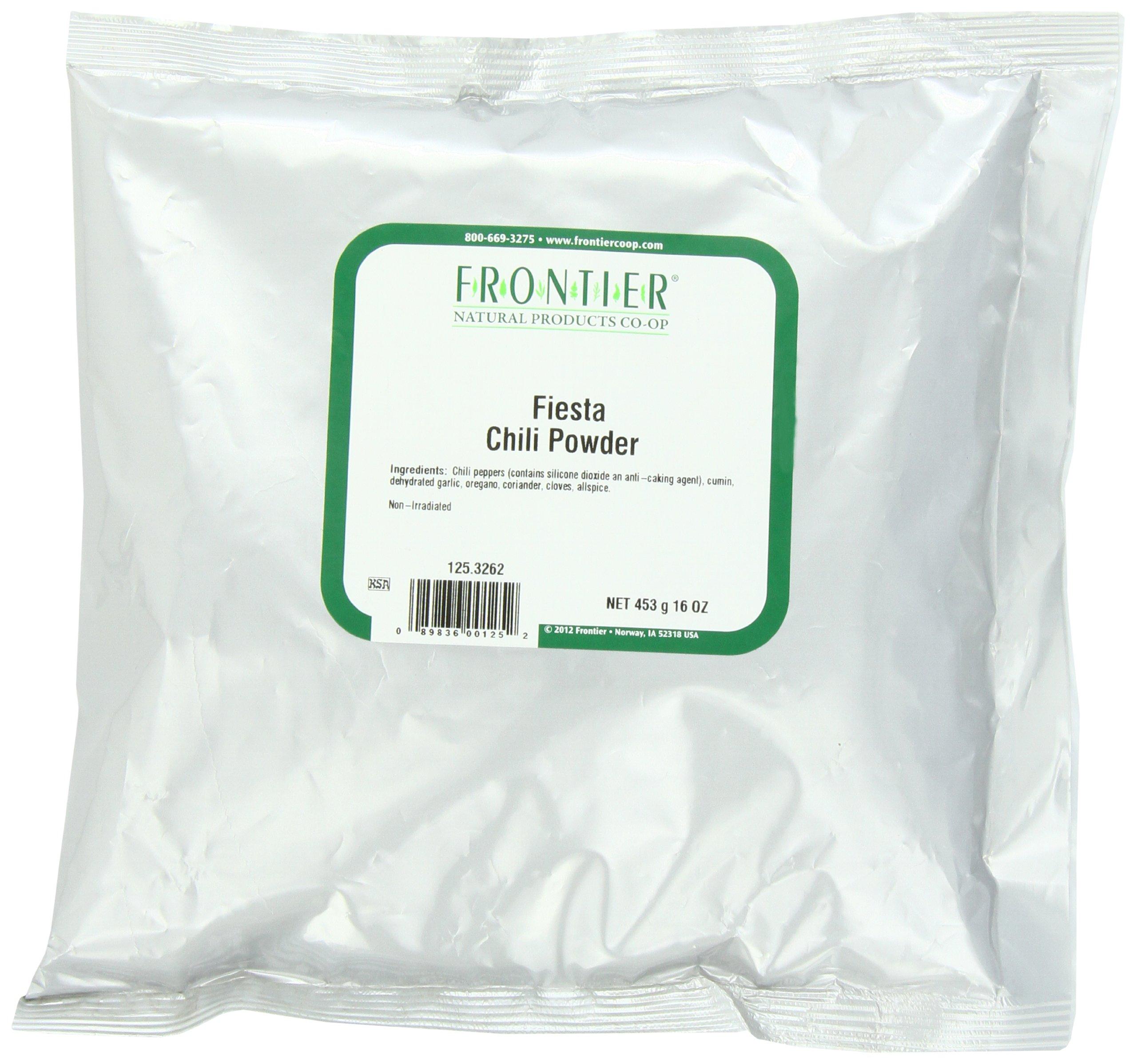 Frontier Chili Powder Blend, Fiesta, 16 Ounce Bag