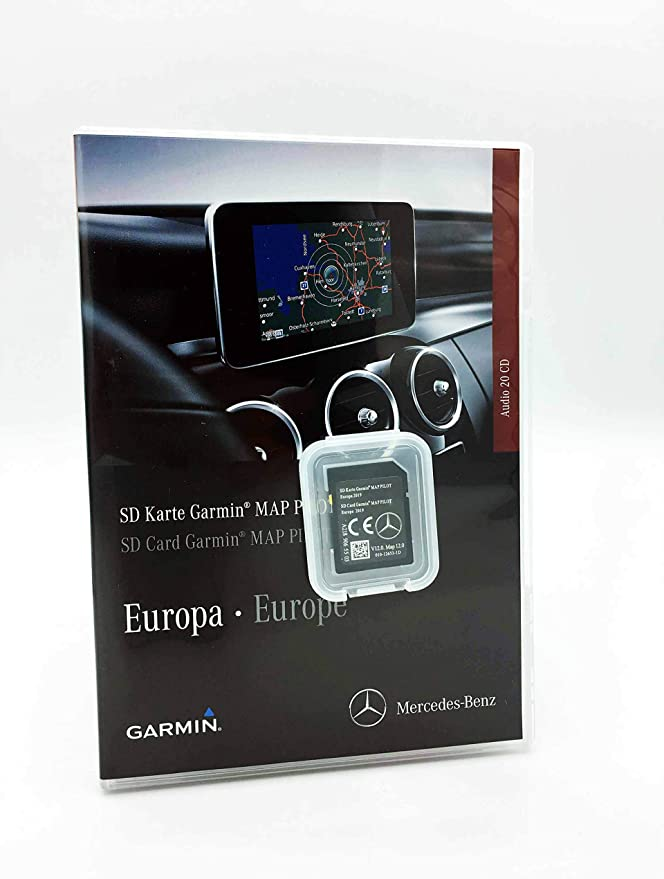 Tarjeta SD Mercedes Garmin Map Pilot STAR1 v12 Europe 2019: Amazon.es: Electrónica