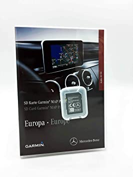 Tarjeta SD Mercedes Garmin Map Pilot STAR1 v12 Europe 2019 ...