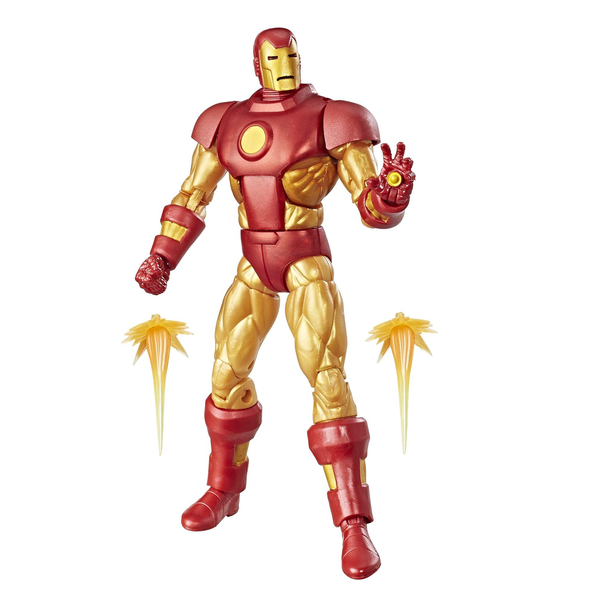 Marvel Retro 6-INCH Kollektion Iron Man Figur Action- & Spielfiguren