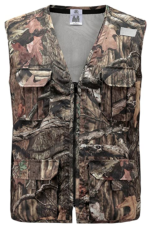 1b4d74063d66e Image Unavailable. Image not available for. Color: 360 USA - Mossy Oak  Camouflage Hunting Vest