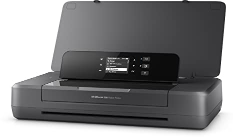 HP Officejet 200 Mobile - Impresora de tinta (PCL 3, 4800 x 1200 DPI, 50/60 Hz, A4, Papel satinado, Papel fotográfico, Papel normal, Papel reciclado, ...