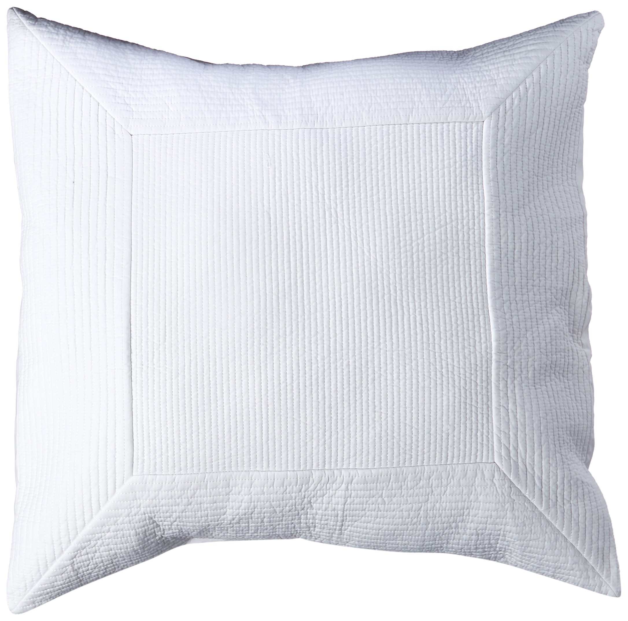 Tommy Bahama Quilted Sham, European King, White