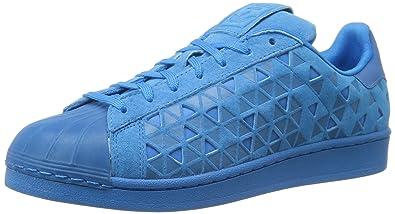 superstar adidas bleu
