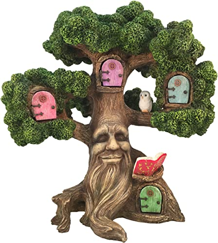 GlitZGlam Fairy Garden Enchanted Joshua s Miniature Tree 10.5 Inch Tall for The Garden Fairies and Lawn Gnomes. A Fairy Garden Accessory