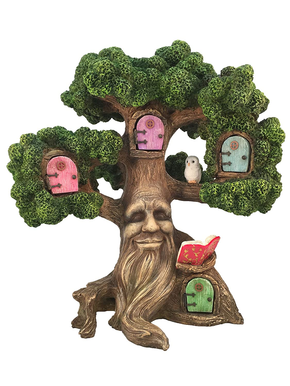 Fairy Garden Enchanted Joshua's Miniature Tree (10.5 Inch Tall) for the Garden Fairies and Lawn Gnomes. A Fairy Garden Accessory