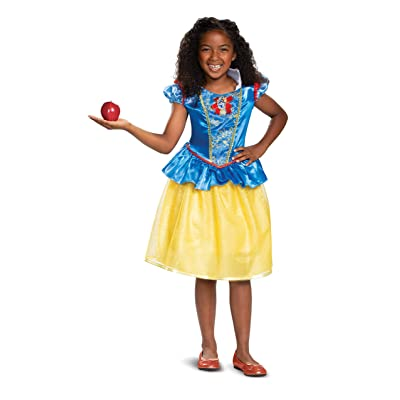 Disney Princess Snow White Classic Girls' Costume, Blue: Toys & Games