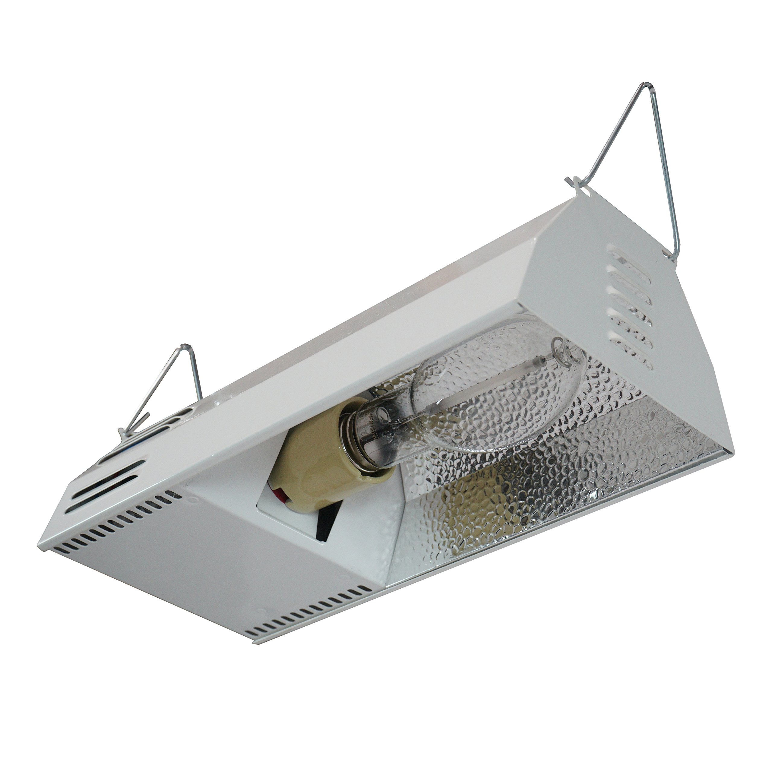 Hydroplanet™ Grow Light Fixture HPS 150W Complete System with Hydroplanet Lamp - HPS Plug and Play Grow Lamp For Hydroponics and Greenhouse Use(150W Grow Light Kit)
