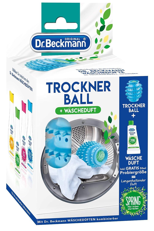 Bola para la secadora Dr. Beckmann, incluye 50 ml de fragancia ...