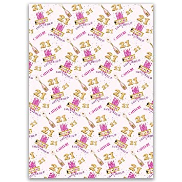 Paper Themes Girls Birthday Wrapping Personalised Gift Wrap
