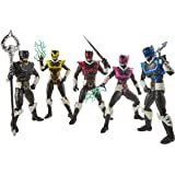 "Power Rangers Lightning Collection - 5 Pack - 6"" In Space Psycho Rangers - Premium Collectible Action Figures - Kids…"