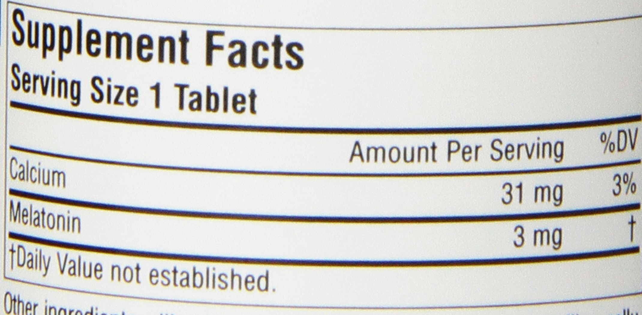 Source Naturals Melatonin 3mg - Sustained Release - 120 Tablets by Source Naturals (Image #3)