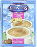 Swiss Miss Hot Cocoa Mix, Milk Chocolate, No Sugar Added, 60-Count Envelopes (Pack of 2)
