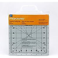 Fiskars 01-001625J 8x8 Inch Rotating Cutting Mat, Yellow