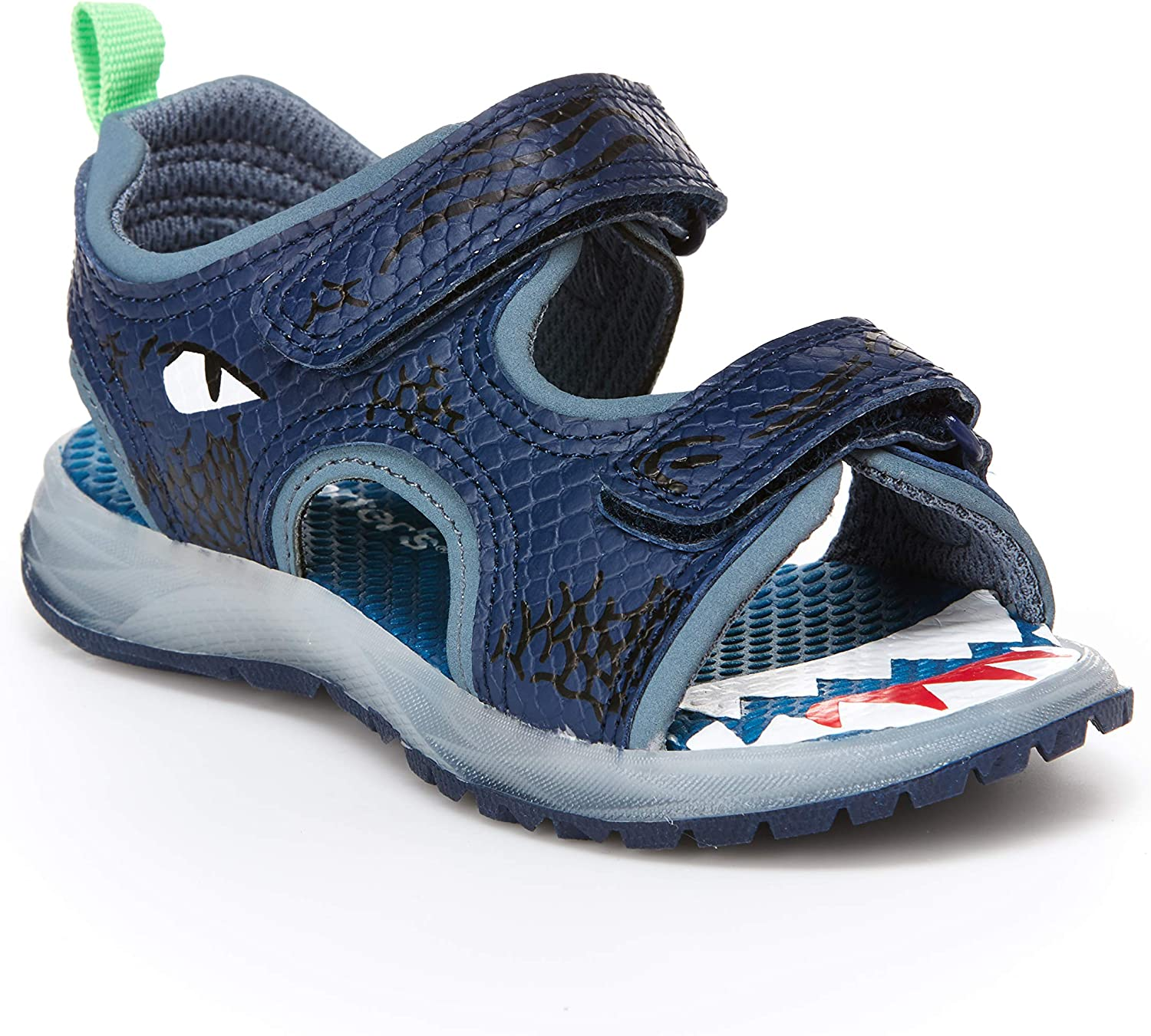 Carter's Kids Boy's Dilan Lighted Sandal with Double Adjustable Straps