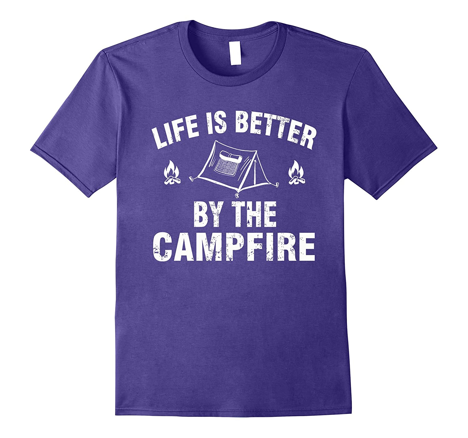 Life Is Better By The Campfire T-Shirt-Vaci