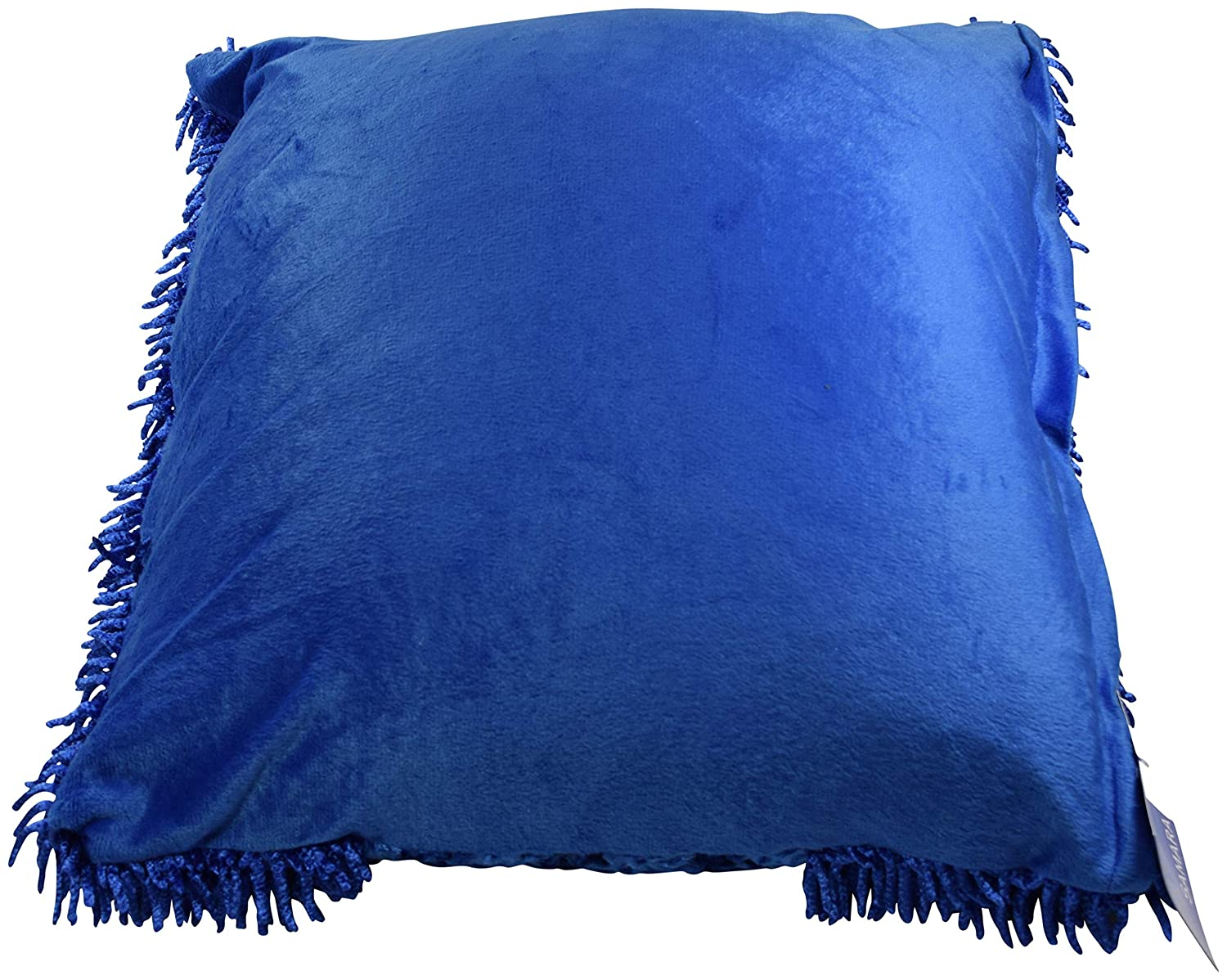 Estex Home Fashions Samara Fuzzy Throw Pillow with Patterned Design Perfect for a Couch or Bed