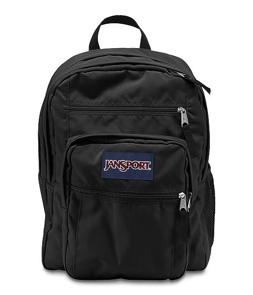 6ce36c5fa1c Amazon.com  Jansport Big Student Backpack (Black)  JanSport  Clothing