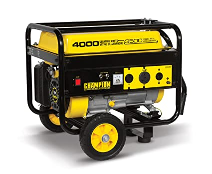 Champion 3500 Watt RV Ready Portable Generator With Wheel Kit