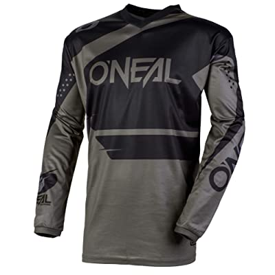 O'Neal Element Racewear Child Jersey (Black/Gray, L): Automotive