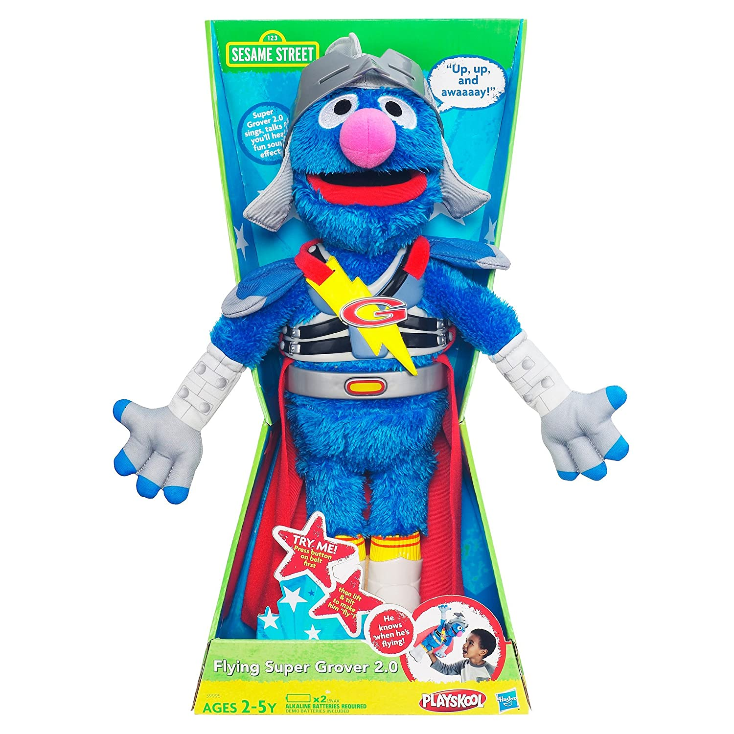 Amazon Flying Super Grover 2 0 Toys & Games
