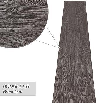 Jago 7 PVC Platten Bodenbeläge Fußboden PVC Bodenplatten Laminat,  Abdeckfläche 0,975 M² In