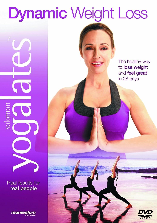 Yogalates 8 Dynamic Weight Loss DVD Amazoncouk Blu Ray