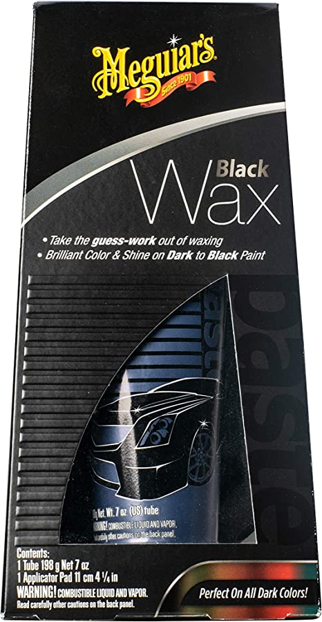 Meguiar's G6207 Black Wax Paste