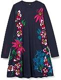 Desigual Vest_Wildflower Vestido Casual para Niñas
