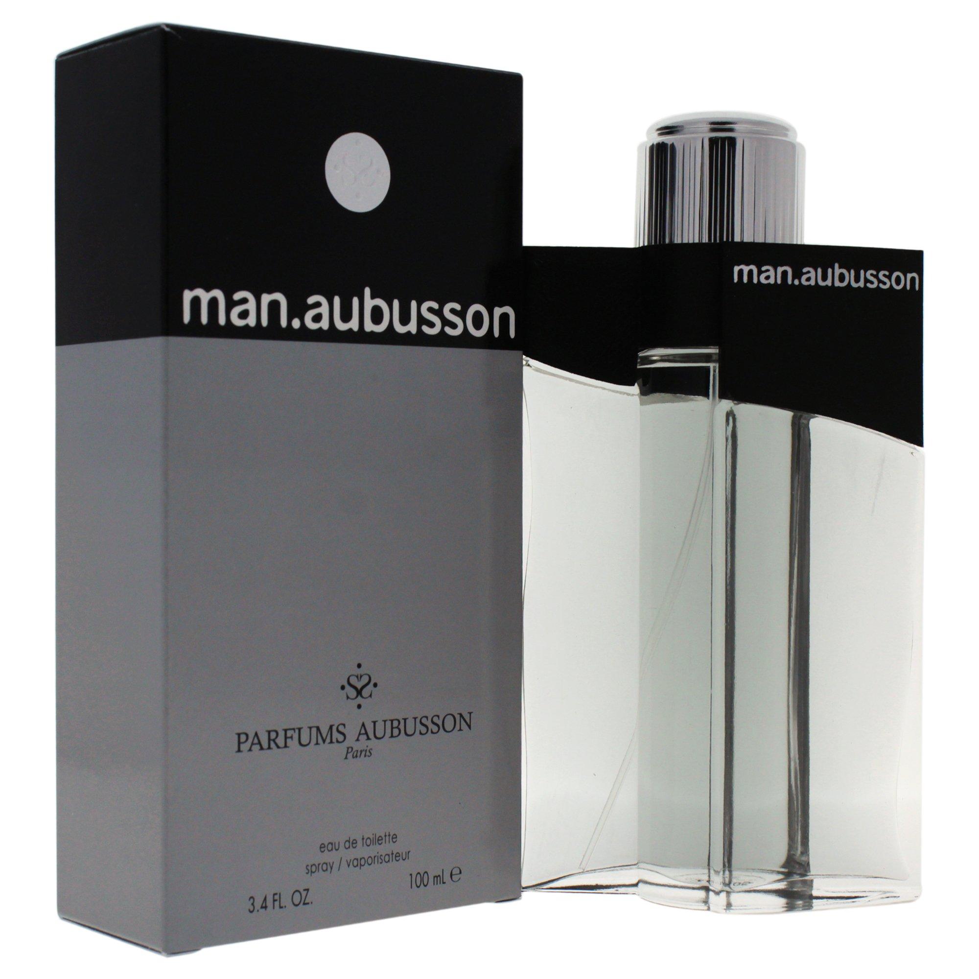 Man.Aubusson Men Eau De Toilette Spray by Aubusson, 3.4 Ounce