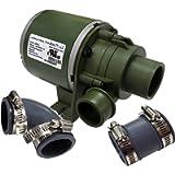 Luraco Discharge Pump Drain Pump for Pedicure Spa Basins, Green, 1 Count
