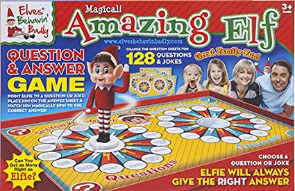 Amazon com: Elves Behaving Badly Magical Amazing Elf Question