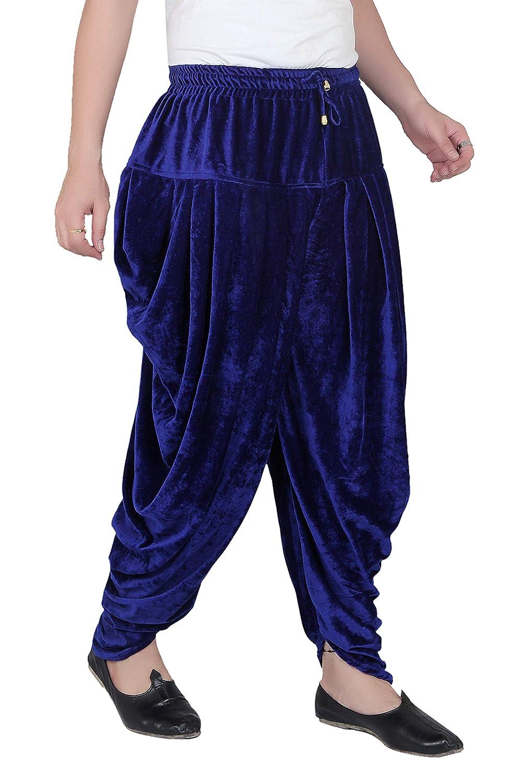 Patiala-Pants-Salwar-fuer-Maenner-Samt-elastischer-Bund-handgefertigt-laessig-Wear Indexbild 16