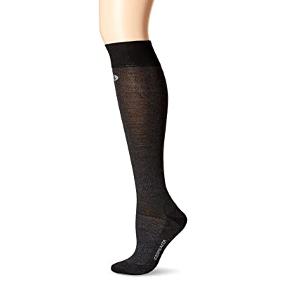 .com : Icebreaker Merino Women's Snow Liner Over The Calf Merino Wool Socks, Black, Medium : Clothing