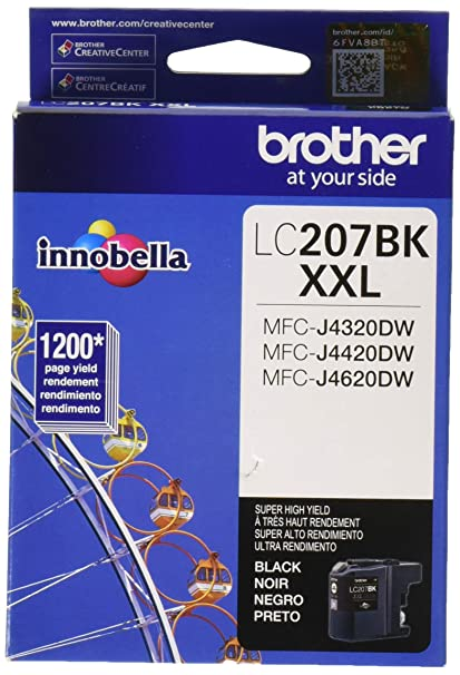 Brother LC-207BK cartucho de tinta Original Negro 1 pieza(s ...