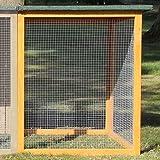 Zooprimus Hühnerstall Auslauf 148 Geflügel-Auslauf - Flexi – Stall für Außenbereich (für Kleintiere: Hühner, Geflügel, Vögel, Enten usw.) (Nur Auslauf Flexi - ohne Stall)