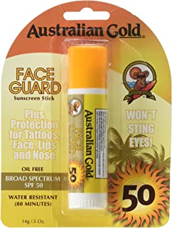 product image for Australian Gold Face Guard Sunscreen Stick SPF 50+ 0.50 oz