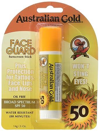 Face Guard Sunscreen Stick SPF 50+ 0.50 oz By Australian Gold Vitamin C Cream Facial Moisturizer for Mature Skin