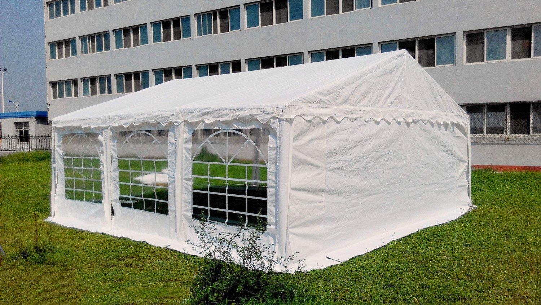 Amazon.com : OTLIVE 20x20 ft Wedding Tent Party Easy Gazebo Steel ...