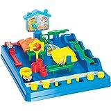 """TOMY Geschicklichkeitsspiel für Kinder """"Crazy Ball"""" mehrfarbig - hochwertiges Kinderspielzeug - Spieleklassiker Labyrinth Game - ab 5 Jahre"""